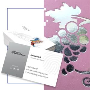 Business Cards Hot Foil