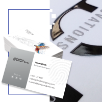 Business Cards | Laminated with Raised Spot UV