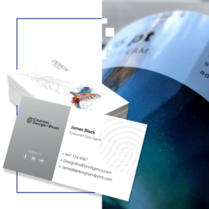 Business Cards Gloss Lamination