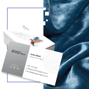 Business Cards Soft Touch Lamination